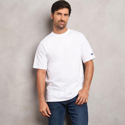 Men's Cotton Classic T-Shirt WHITE