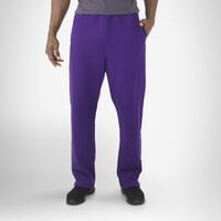 Men's Dri-Power® Open-Bottom Pocket Sweatpants PURPLE