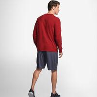 Men's Cotton Performance Long Sleeve Tee CARDINAL