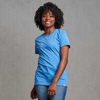 Women's Cotton Performance T-Shirt Collegiate Blue
