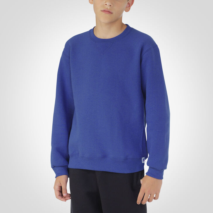 Youth Dri-Power® Fleece Crew Sweatshirt ROYAL