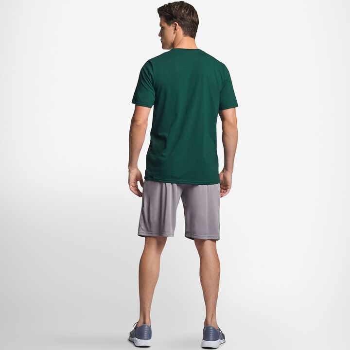 Men's Cotton Performance T-Shirt Dark Green