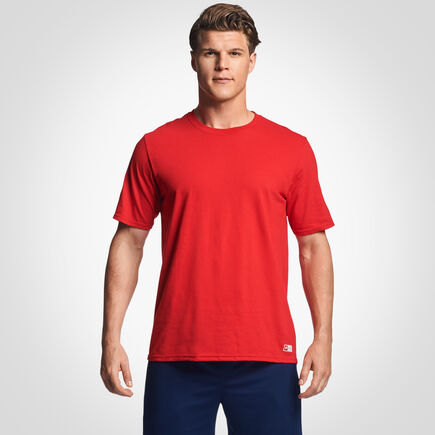 Men's Cotton Performance T-Shirt TRUE RED
