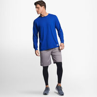 Men's Cotton Performance Long Sleeve Tee ROYAL