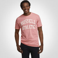 Men's Heritage Arch Graphic T-Shirt PINK