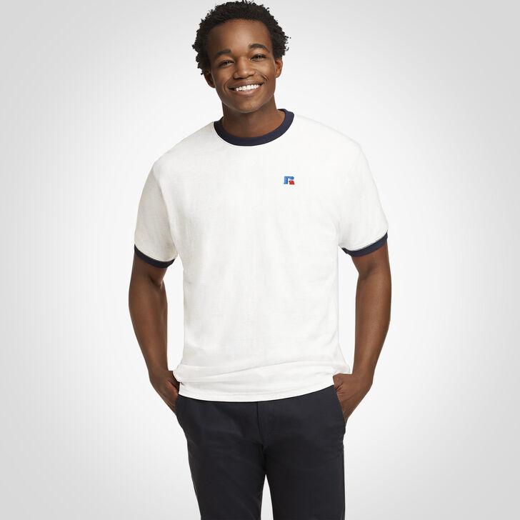 Men's Heritage Ringer T-Shirt WHITE