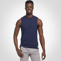 Men's Cotton Performance Muscle Tee NAVY