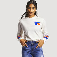 Women's Antonio Long Sleeve Boyfriend Tee SOYA