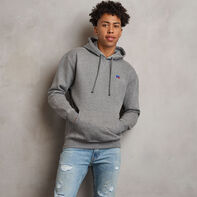Men's Heritage Fleece Hoodie Grey Marl