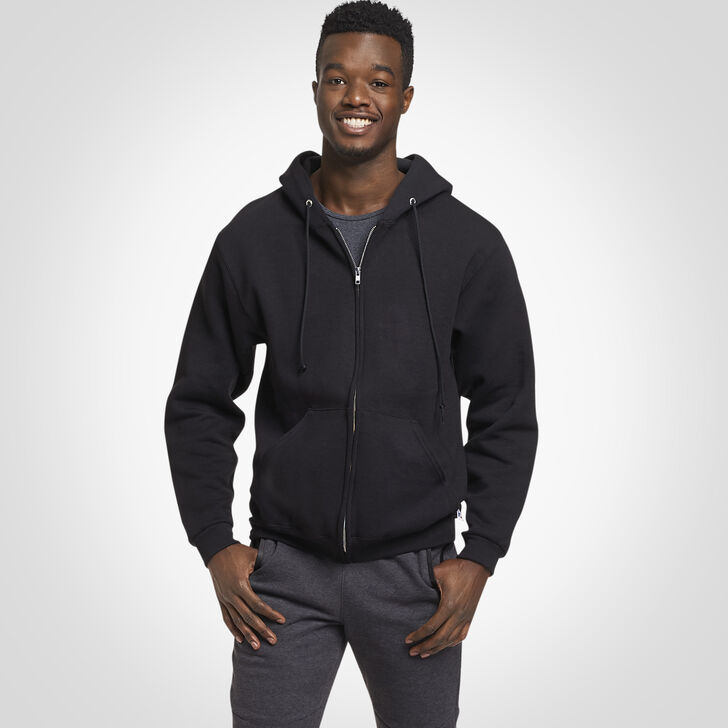 Men's Dri-Power® Fleece Full-Zip Hoodie Black