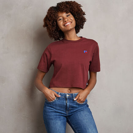 Women's Heritage Cropped Baseliner T-Shirt