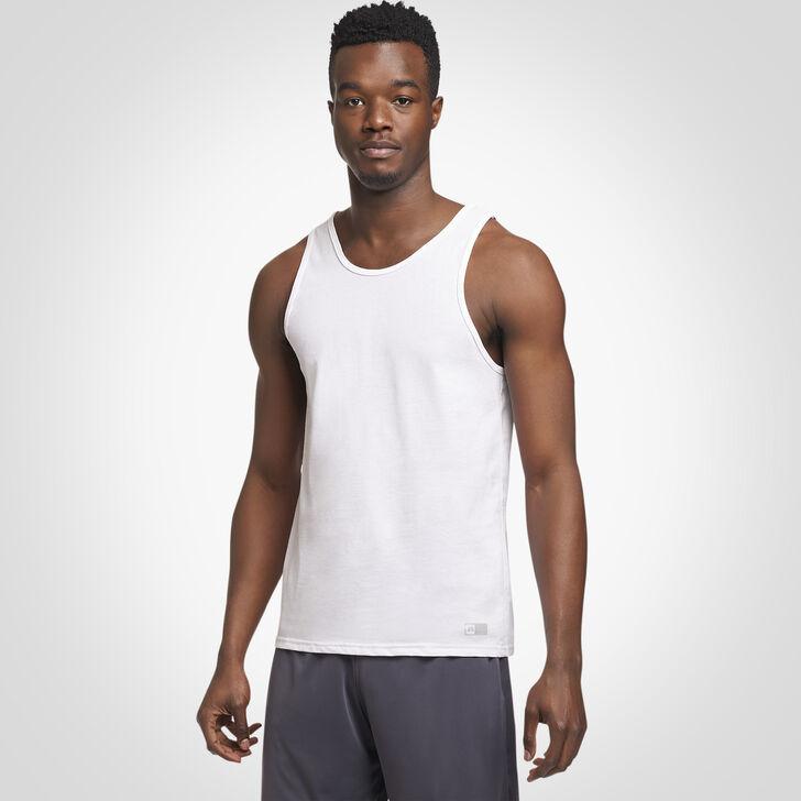 Men's Essential Tank WHITE