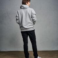 Men's Cotton Rich 2.0 Premium Fleece Hoodie Medium Grey Heather
