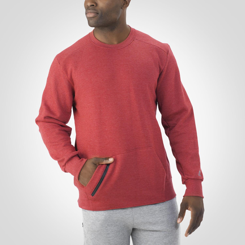 Men's Cotton Rich Fleece Crew Sweatshirt - Russell US | Russell ...
