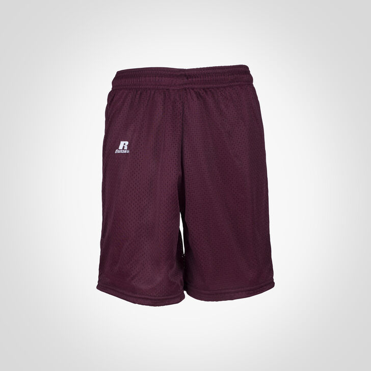 Youth Dri-Power® Mesh Shorts Maroon