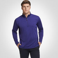 Men's Dri-Power® Lightweight 1/4 Zip Pullover PURPLE