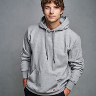 Men's Cotton Rich 2.0 Premium Fleece Hoodie Medium Grey Heather