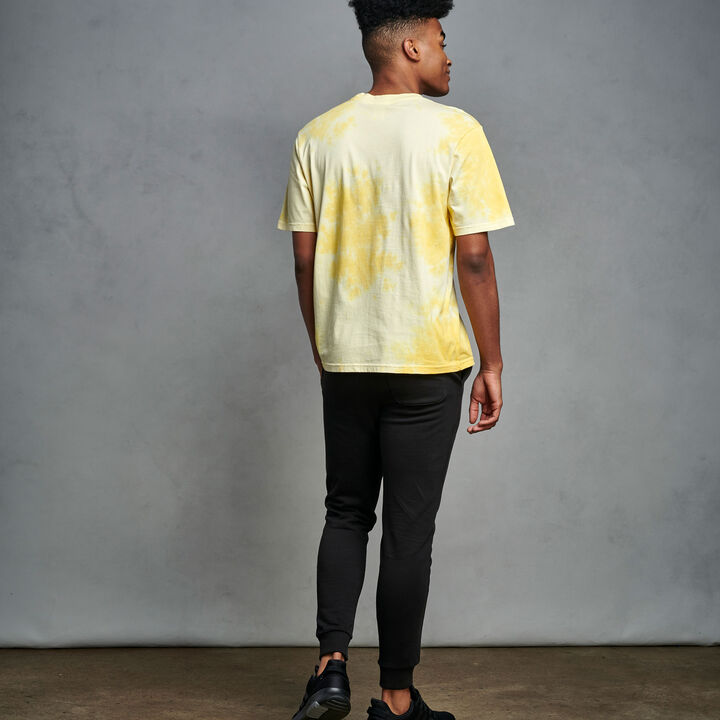 Men's Tie Dye T-Shirt GOLD