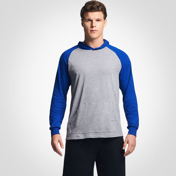 Men's Cotton Performance Lightweight Hoodie OXFORD/ROYAL