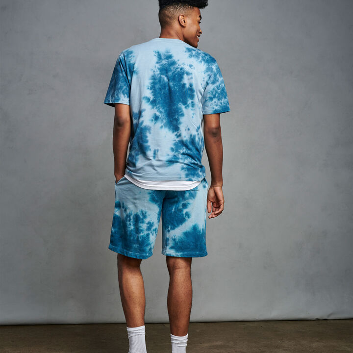 Men's Tie Dye T-Shirt BLUE