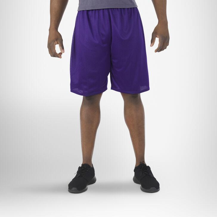Men's Dri-Power® Mesh Shorts (No Pockets) PURPLE