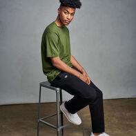 Men's Cotton Rich 2.0 Premium Fleece Sweatpants Black