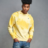 Men's Tie Dye French Terry Hoodie GOLD