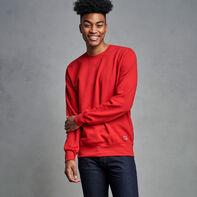 Men's Cotton Classic Fleece Crew Sweatshirt True Red