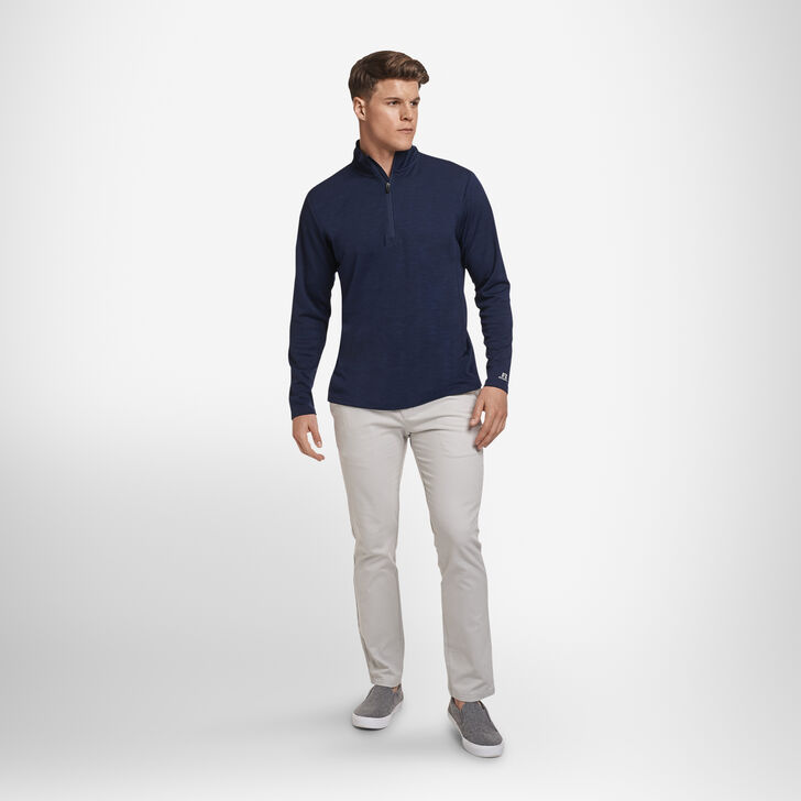Men's Dri-Power® Lightweight Performance 1/4 Zip NAVY