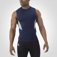 Men's Dri-Power® Muscle Compression Crew NAVY/ROCK