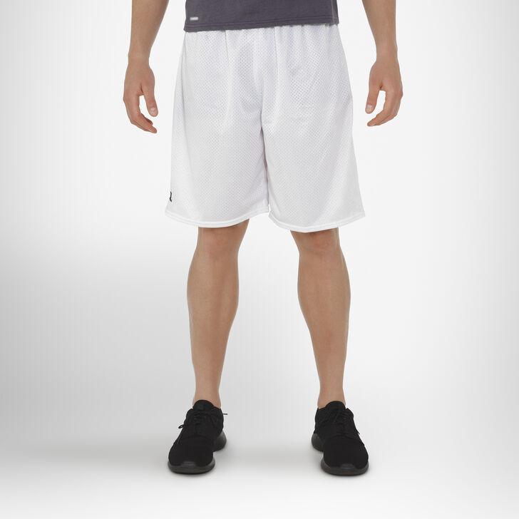 Men's Dri-Power® Mesh Shorts (No Pockets) White
