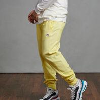 Men's Garment Dyed Frech Terry Jogger Spring Yellow