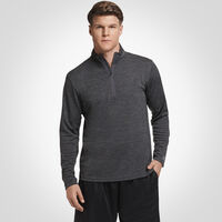 Men's Dri-Power® Lightweight 1/4 Zip Pullover STEALTH