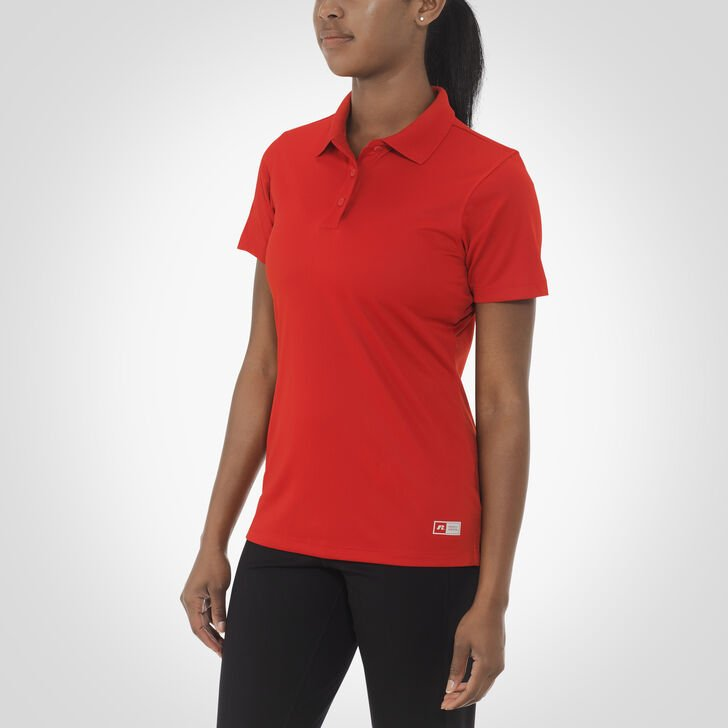 Women's Dri-Power® Short Sleeve Essential Polo TRUE RED