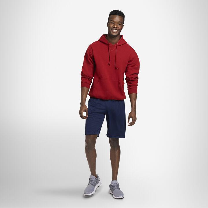 Men's Dri-Power® Fleece Hoodie CARDINAL