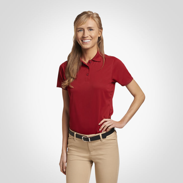 Women's Dri-Power® Performance Golf Polo CARDINAL