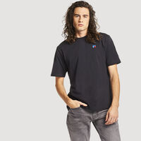 Men's Heritage Heavyweight Baseliner T-Shirt BLACK