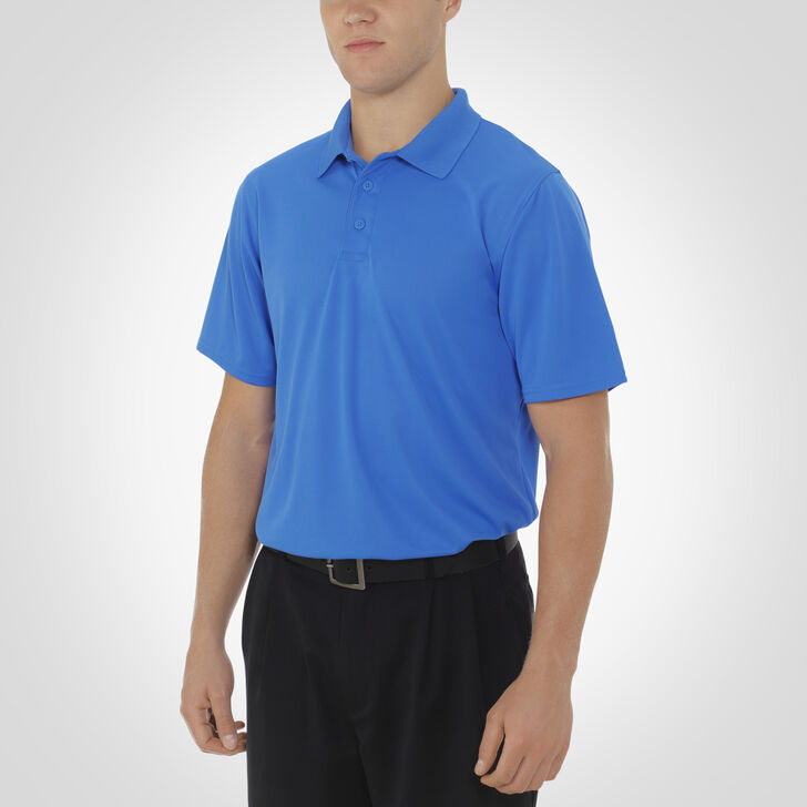 Men's Dri-Power® Essential Short Sleeve Polo COLLEGIATE BLUE