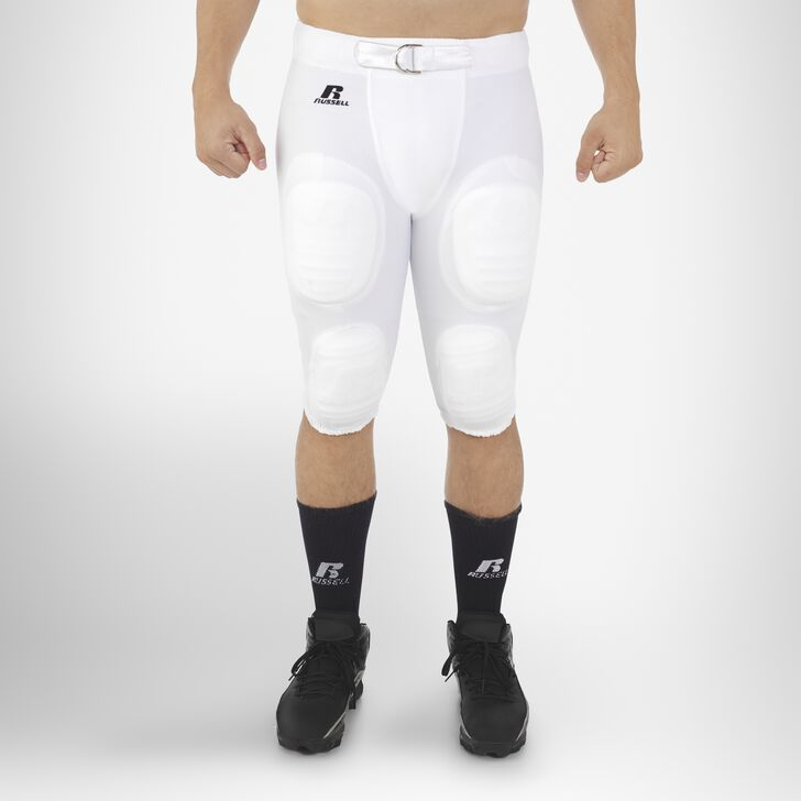 Men's Football Practice Pants WHITE
