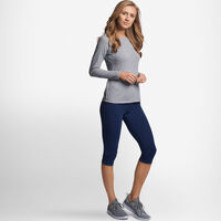 Women's Cotton Performance Long Sleeve Tee OXFORD