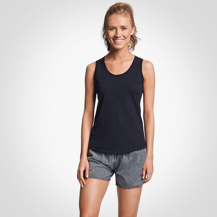 Women's Cotton Performance Tank Top BLACK