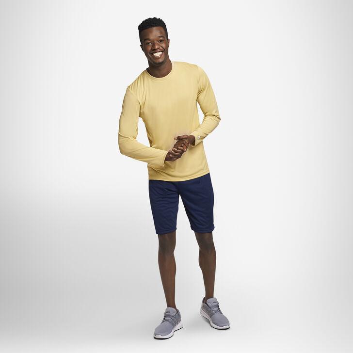 Men's Dri-Power® Performance Long Sleeve T-Shirt GT GOLD