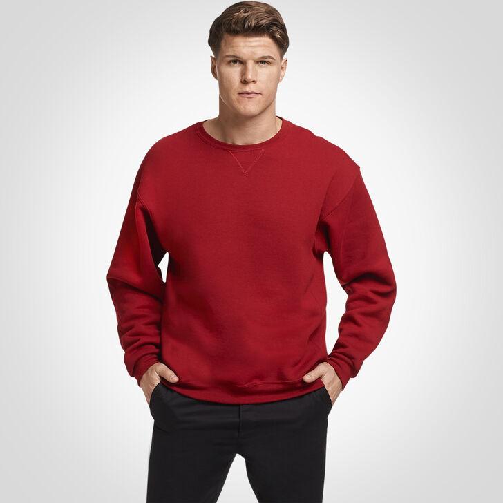 Men's Dri-Power® Fleece Crew Sweatshirt CARDINAL
