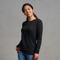 Women's Cotton Performance Long Sleeve T-Shirt Black