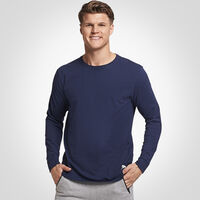 Men's Essential Long Sleeve Tee NAVY