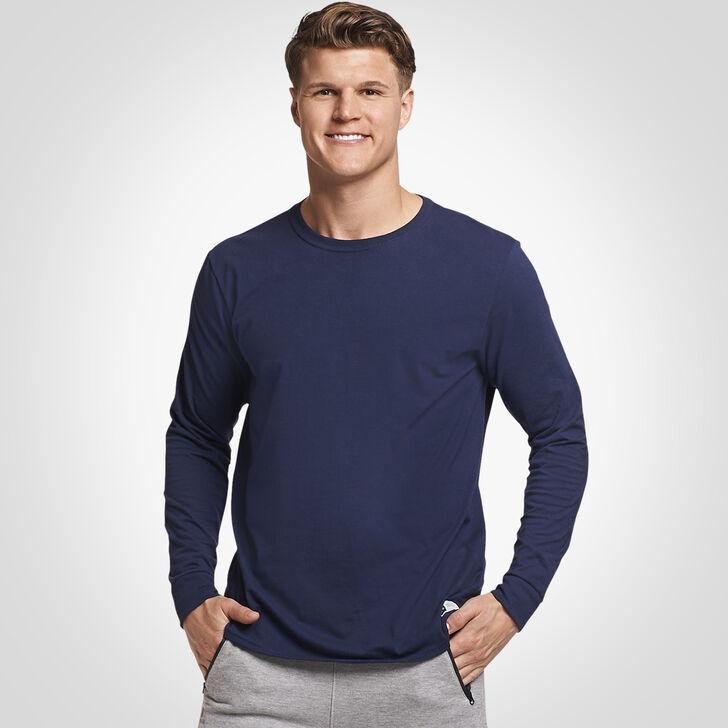 Men's Essential Long Sleeve Tee NAVY