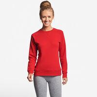 Women's Fleece Crew Sweatshirt True Red