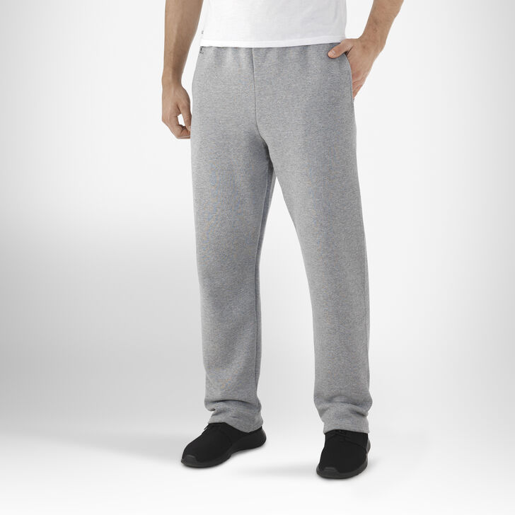 Men's Dri-Power® Open-Bottom Pocket Sweatpants OXFORD