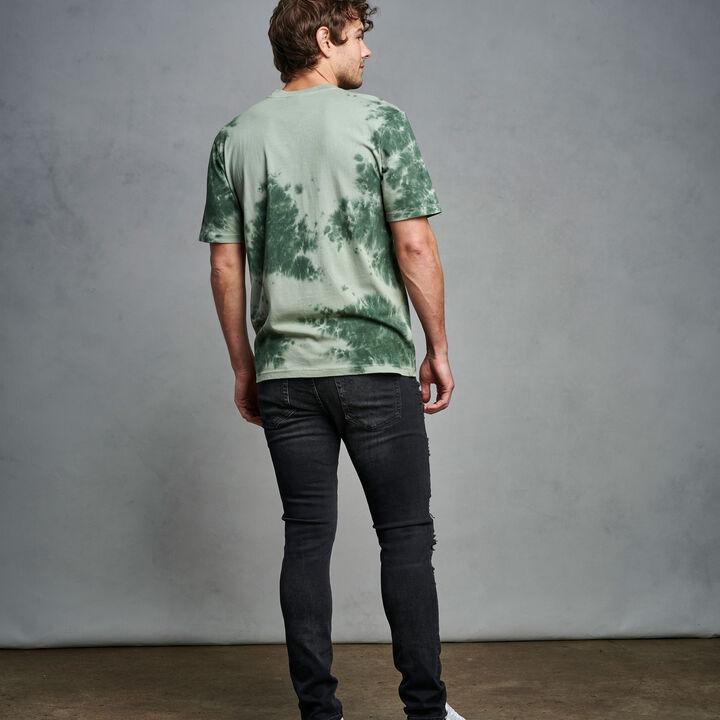 Men's Tie Dye T-Shirt CYPRESS