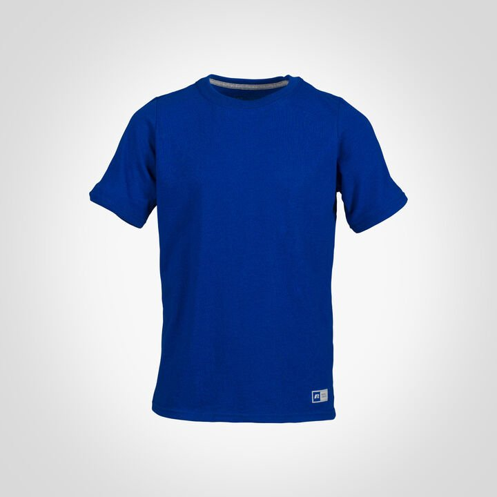 Youth Cotton Performance T-Shirt ROYAL